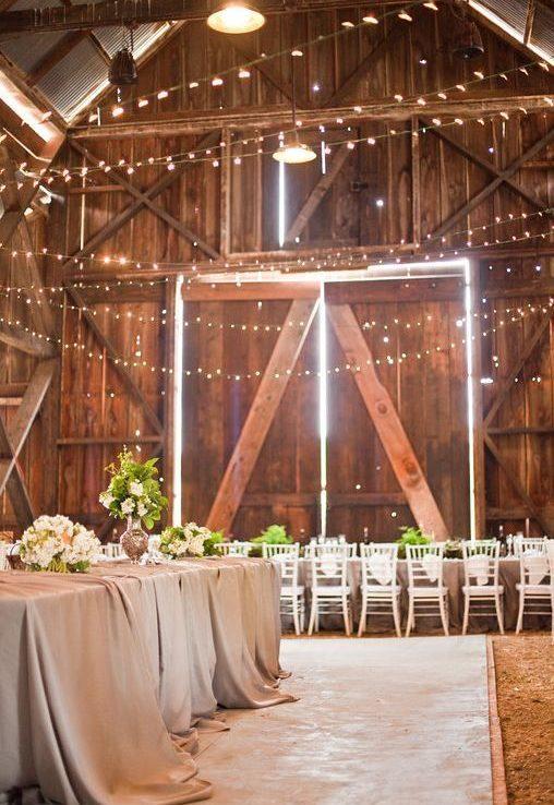 grange mariage décoration champêtre