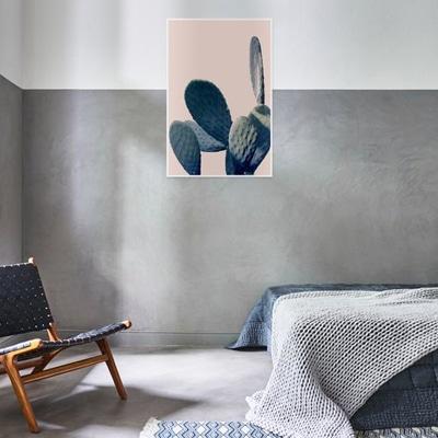 tableau cactus chambre