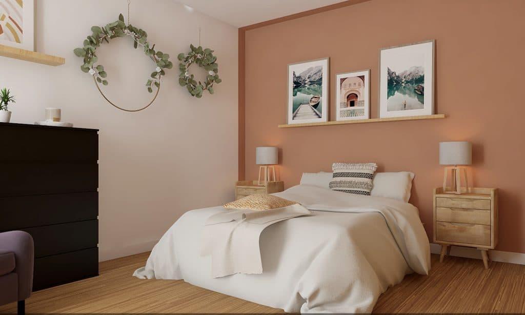 déco chambre rose rhinov