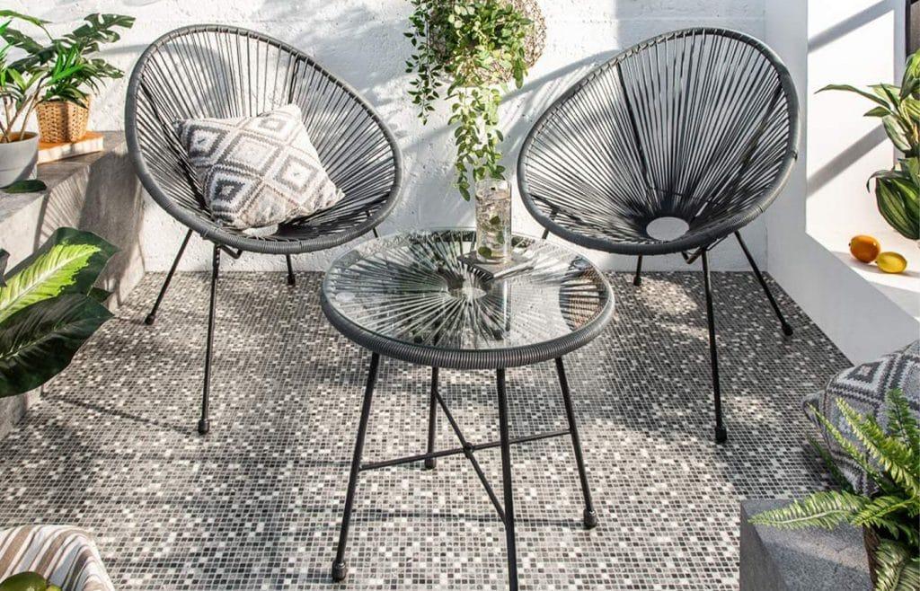 fauteuils aquapulco extérieur