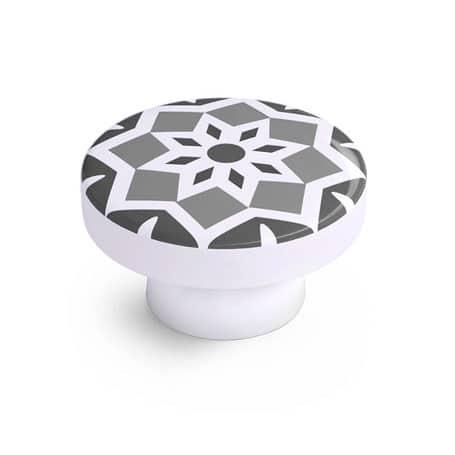 10 boutons décoratifs en mosaïque