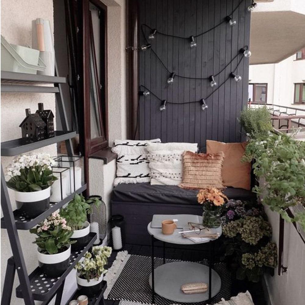 guirlande pour balcon