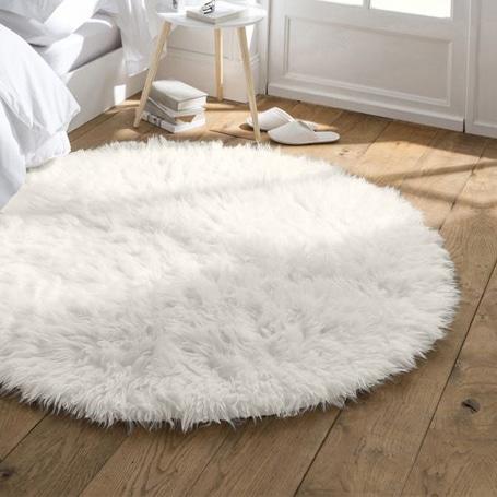 tapis chambre fourrure