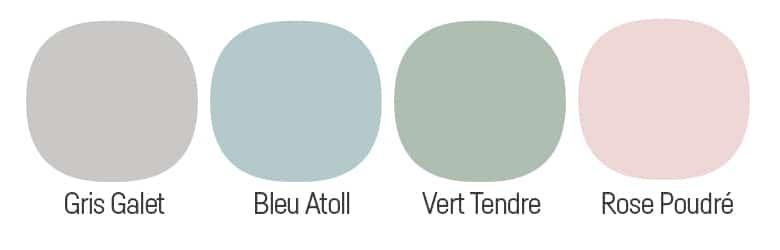 couleurs déco scandinave pastel
