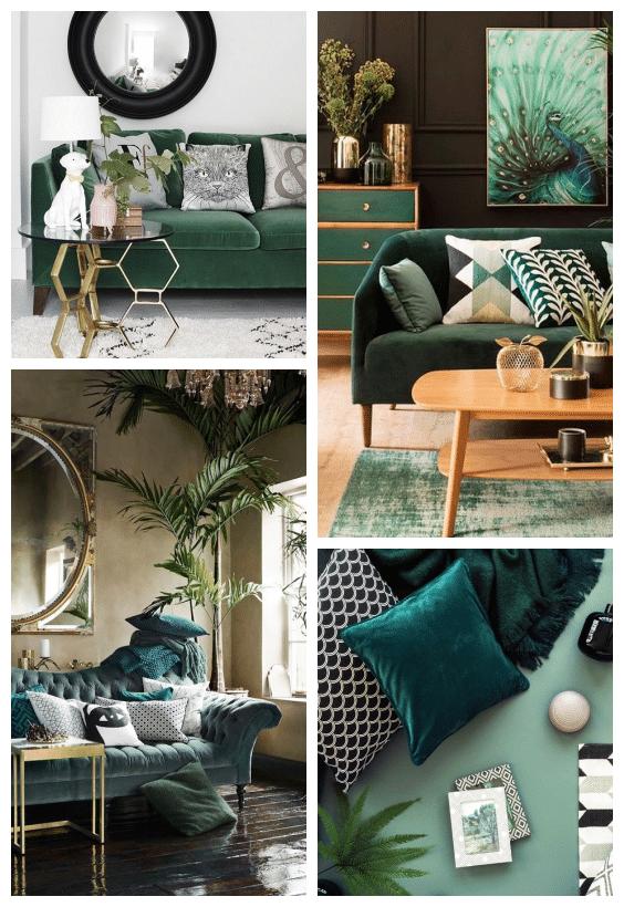 velours décoration jungle