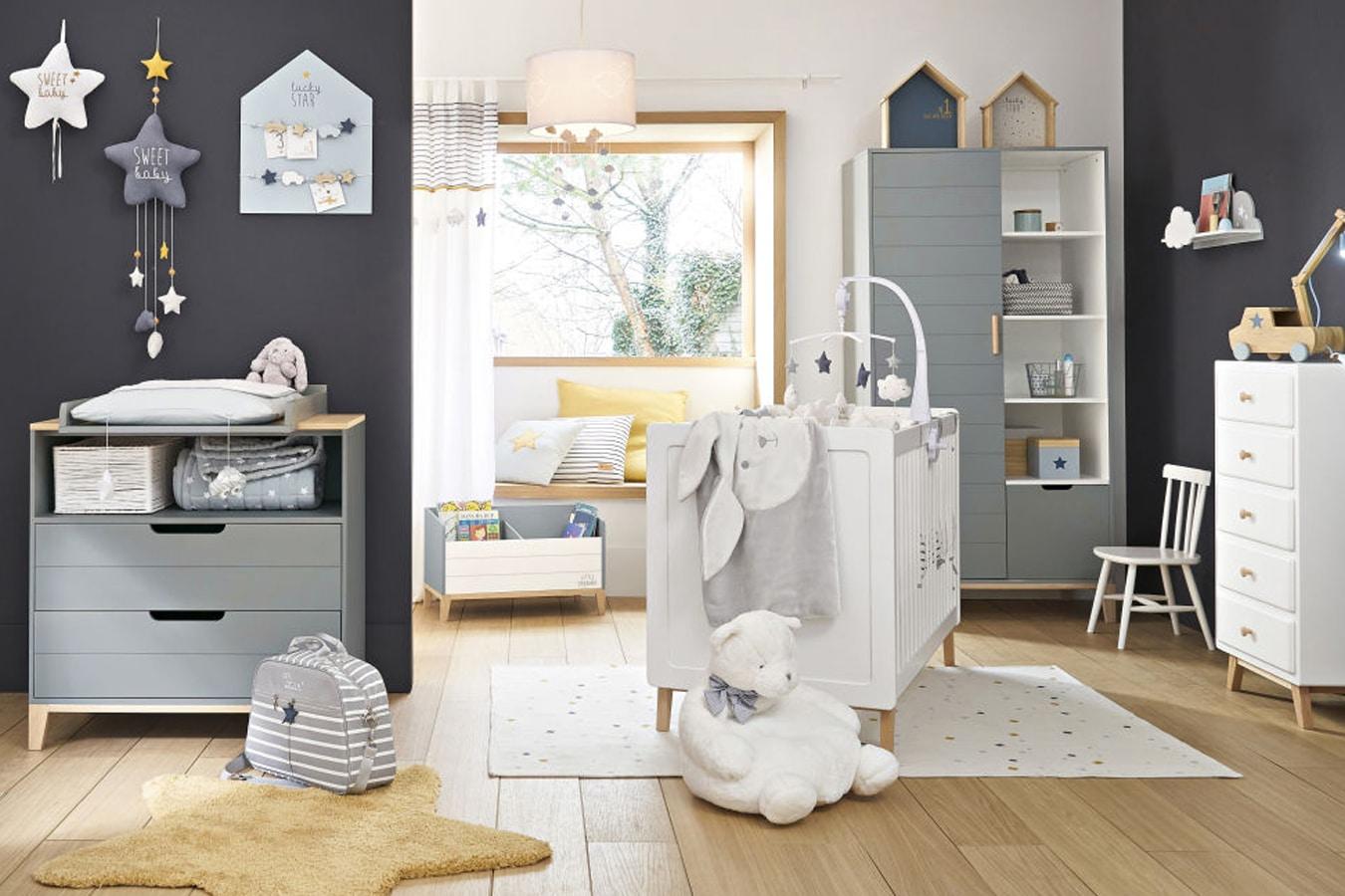 aménagement chambre bébé