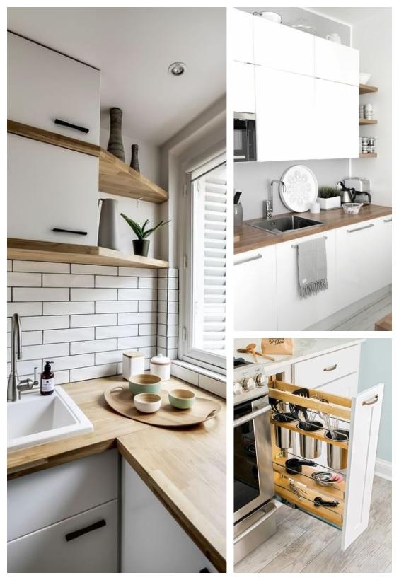 astuce aménagement petite cuisine