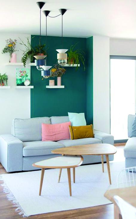 couleurs murs petit salon