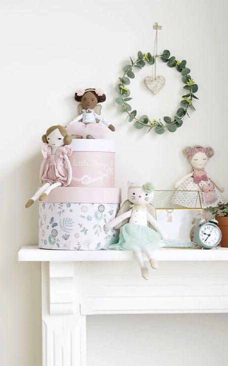 poupées tissus enfant