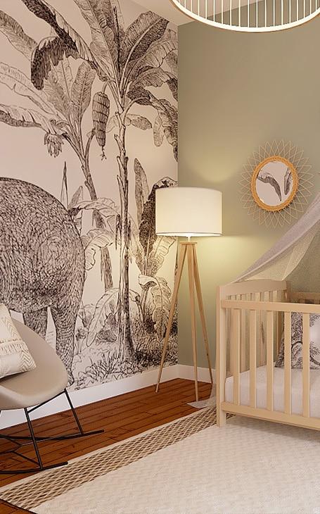 papier peint bébé