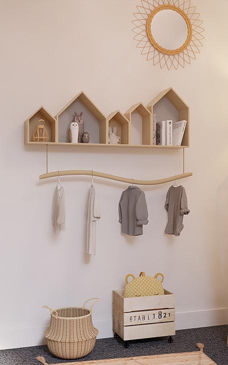armoire de bébé