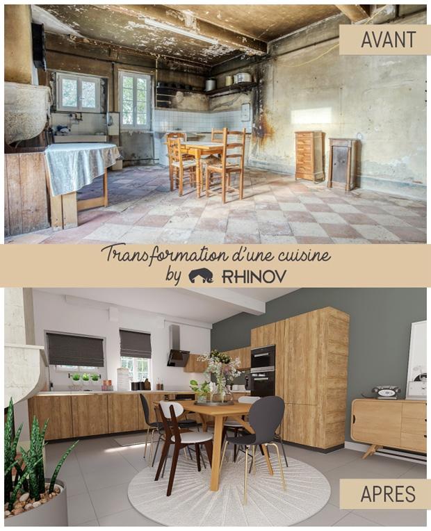 rénovation cuisine rhinov