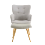 fauteuil scandinave cosy
