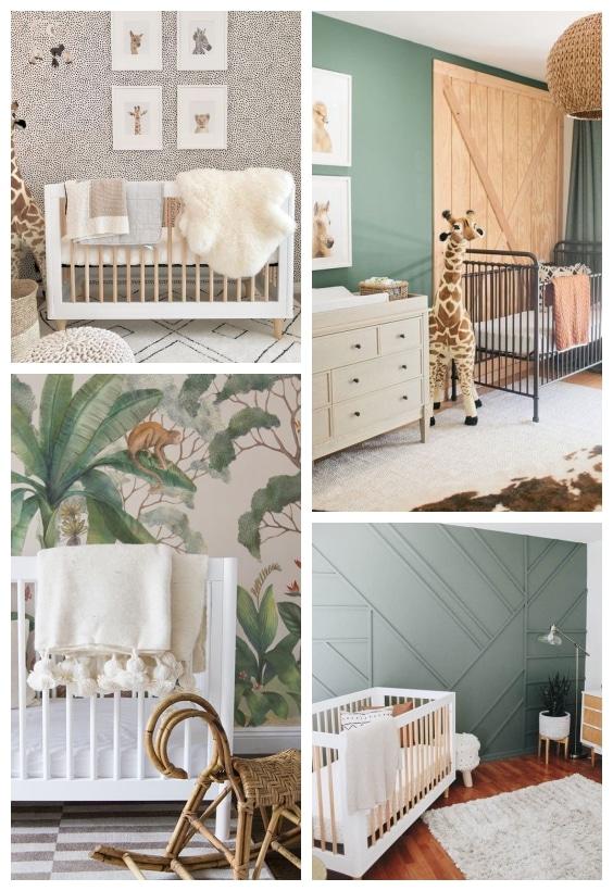 décoration jungle chambre bébé