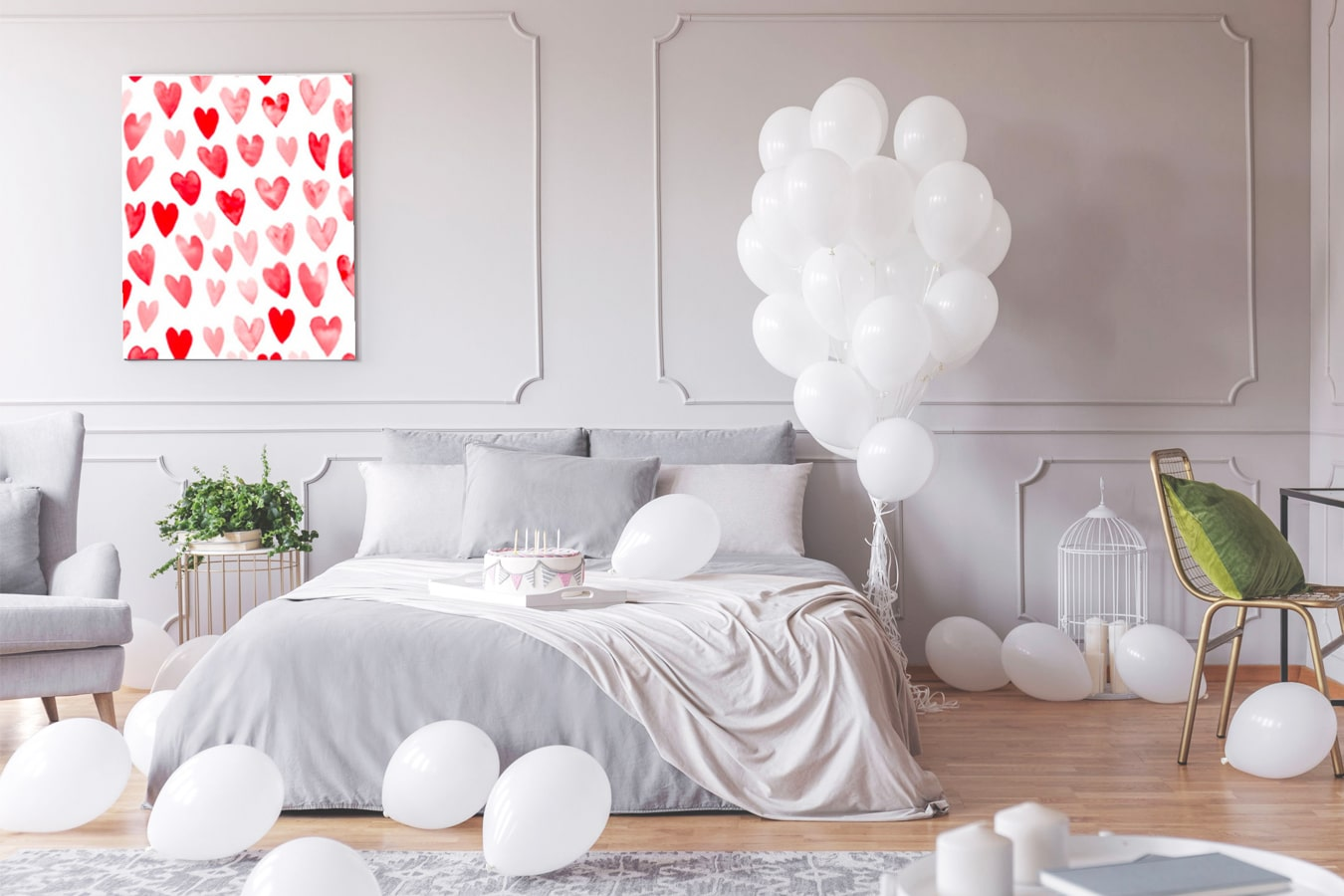 décoration romantique
