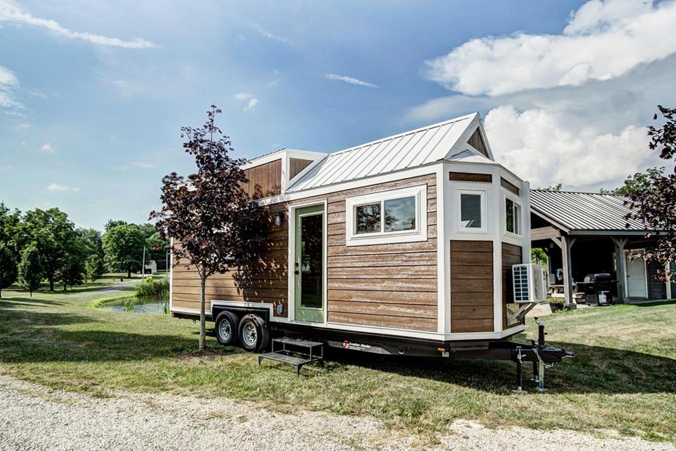 mini maison - La tendance tiny house : l'optimisation de l'espace à son paroxysme