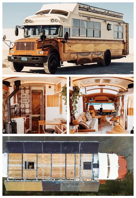 mini maison bus