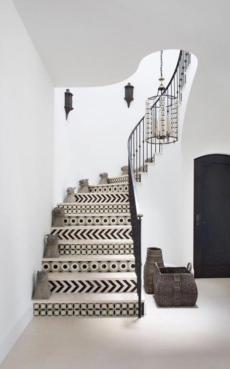 motifs marches escalier