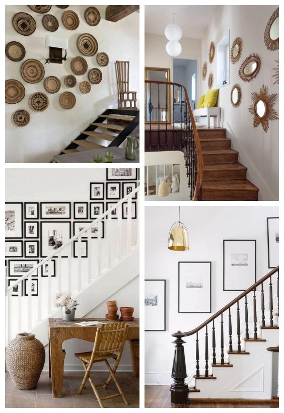 déco murale escaliers