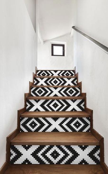 déco marches escalier