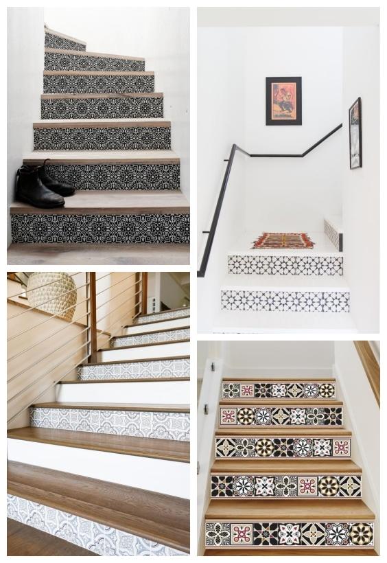escaliers carreaux de ciment