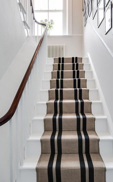 déco tapis escalier