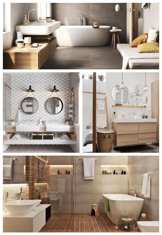 décoration scandinave salle de bains