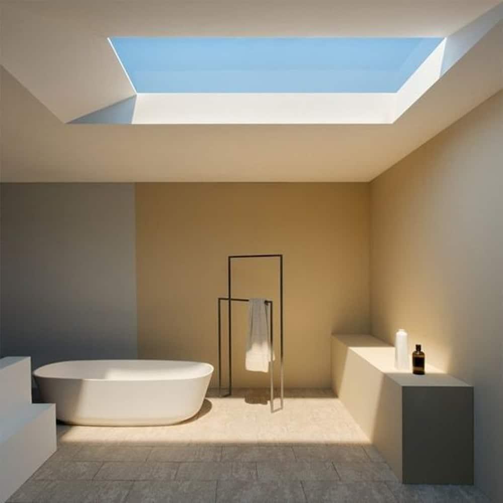 lumière naturelle salle de bain