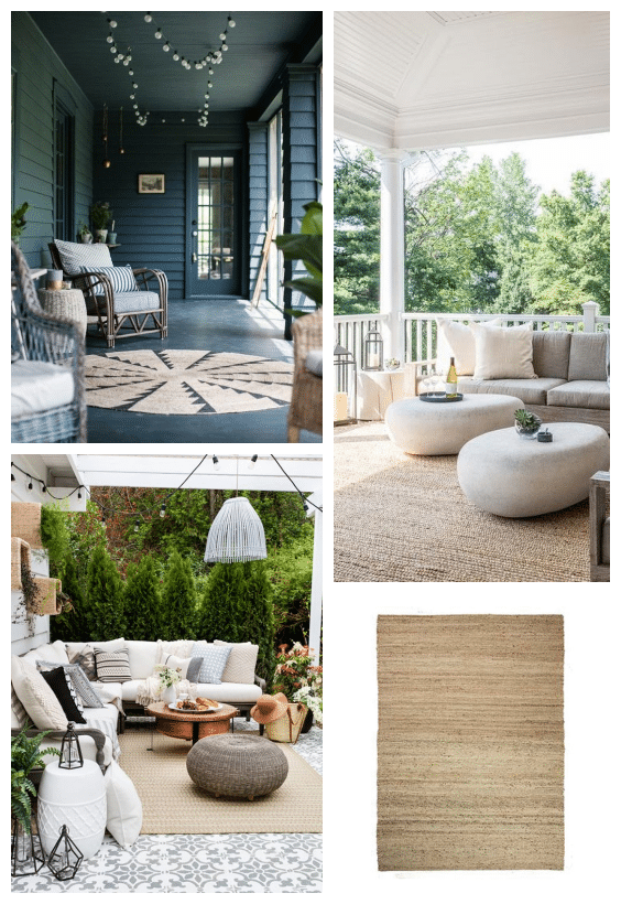 tapis outdoor fibre végétale