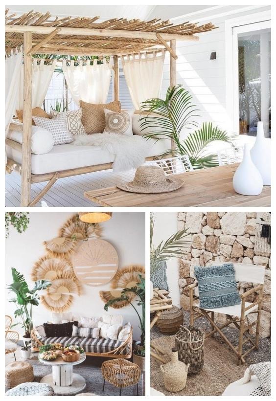 salon de jardin et meubles en rotin