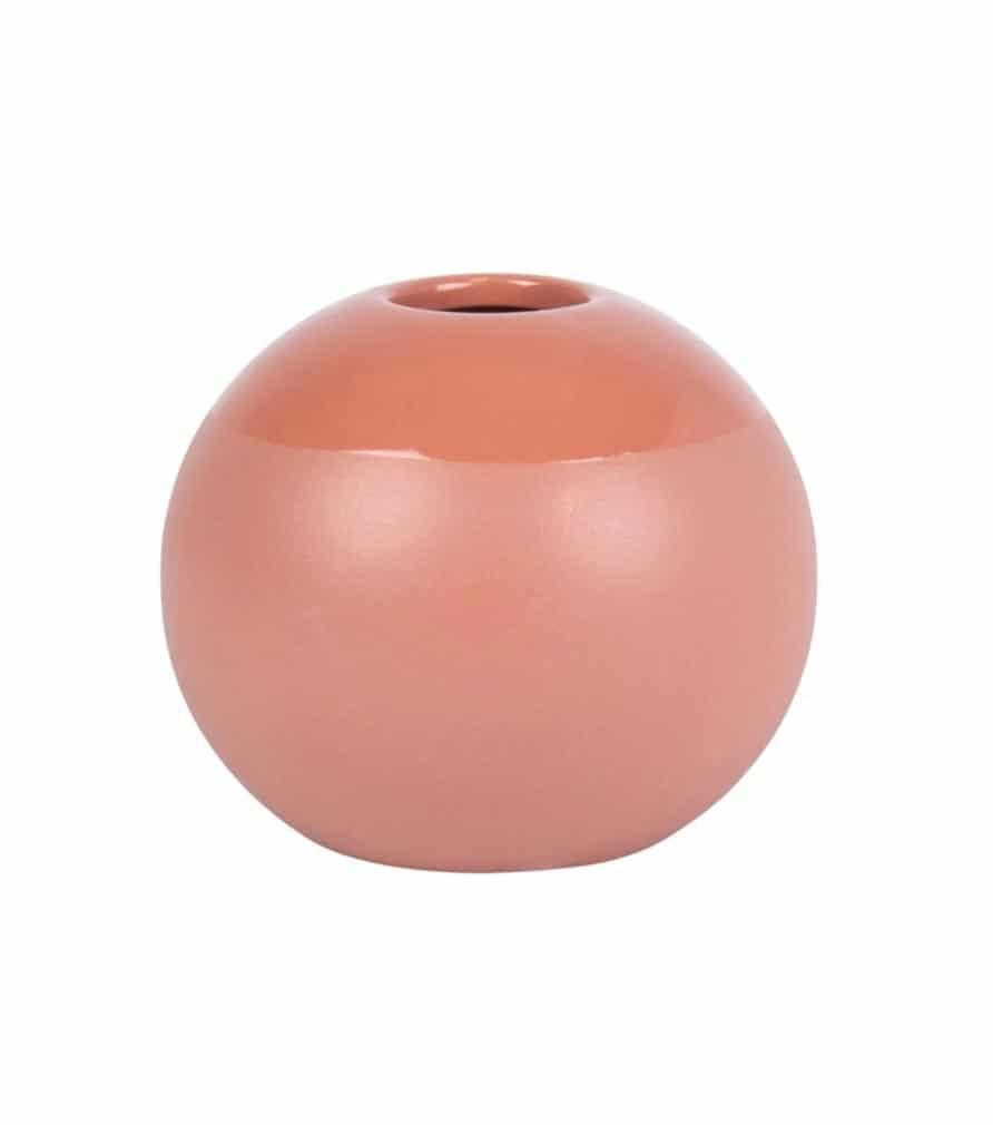 Vase boule en argile