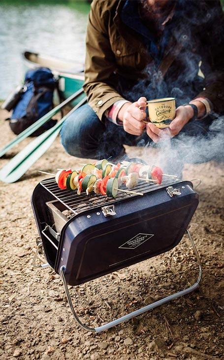 barbecue portable fête des pères
