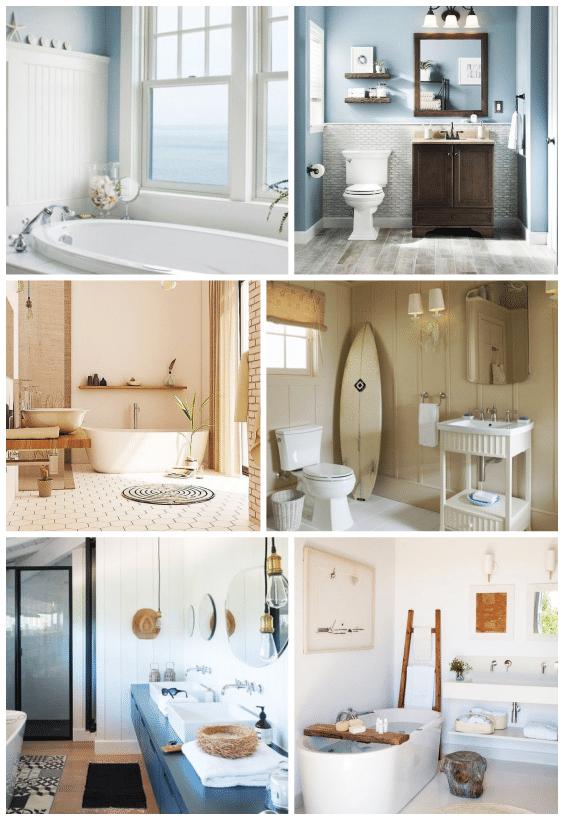couleurs décoration salle de bain