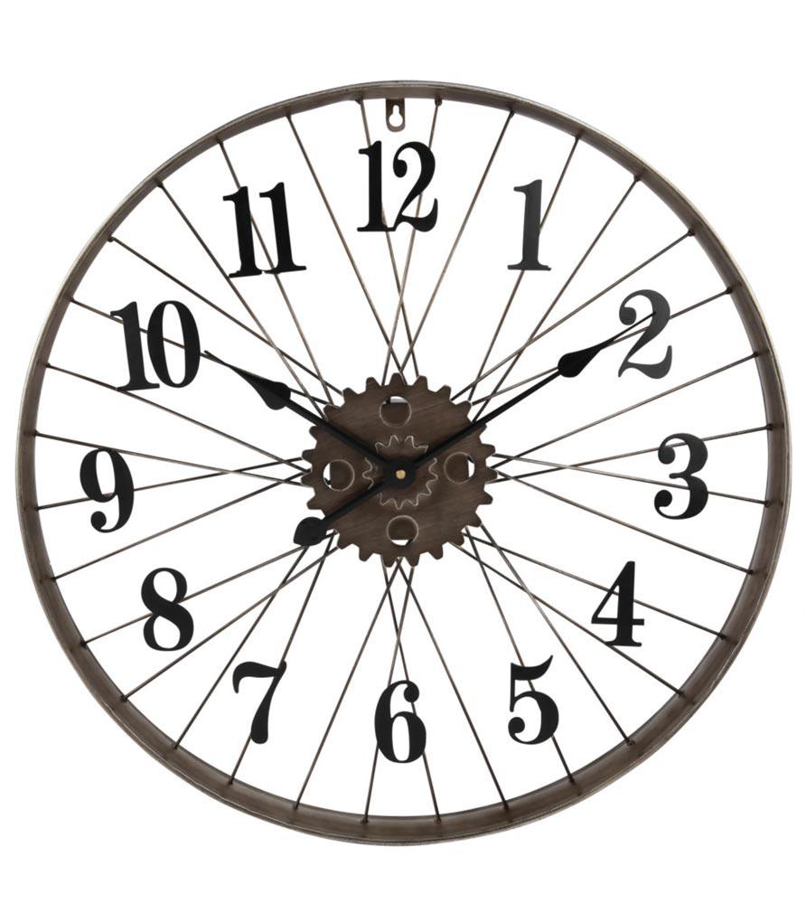 Horloge roue de vélo