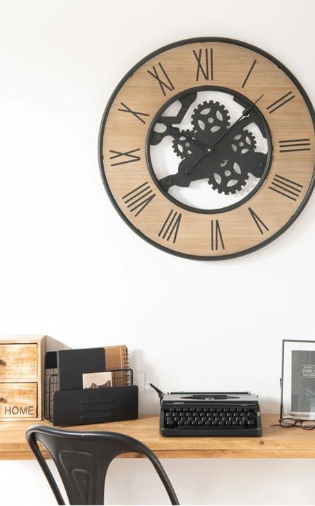 horloge industrielle - fête des pères