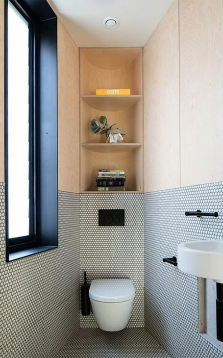 rangements wc