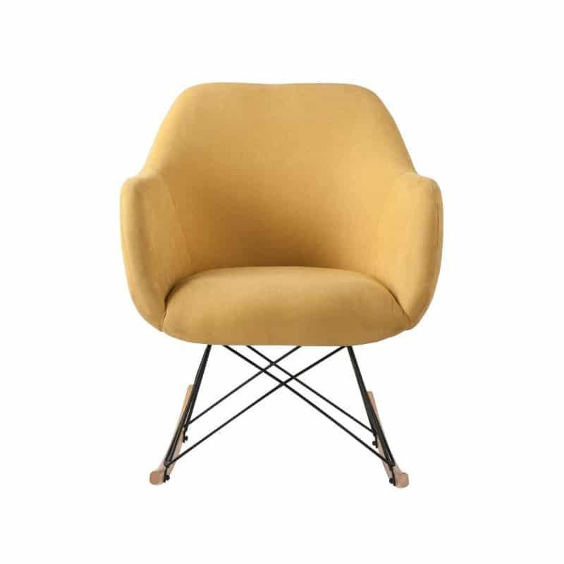 fauteuil jaune déco