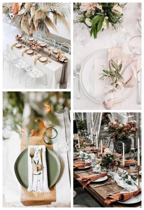 décoration table mariage champêtre
