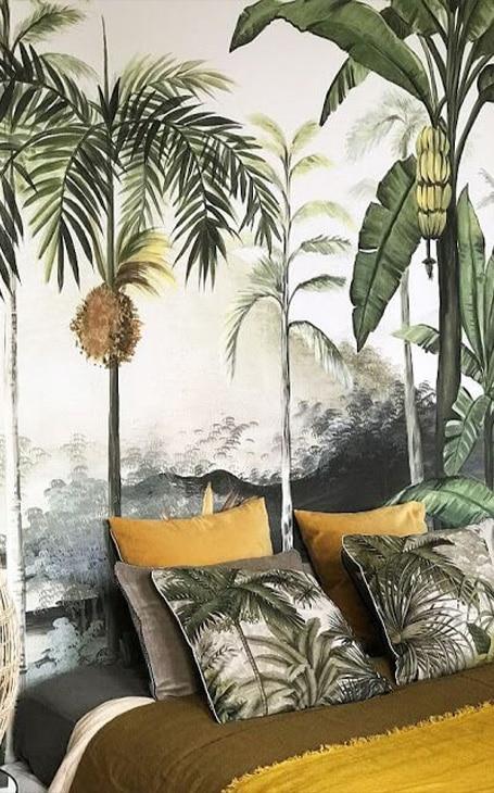 chambre déco jungle