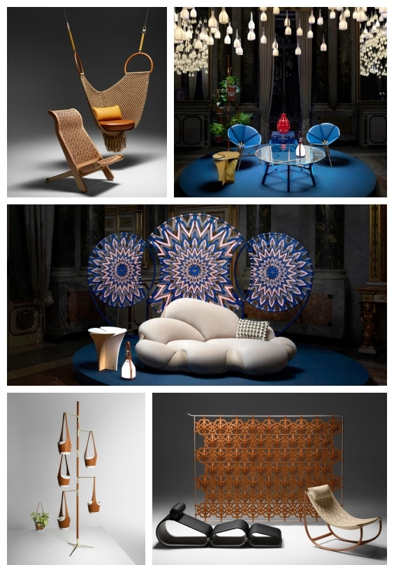 mobilier de luxe Louis Vuitton