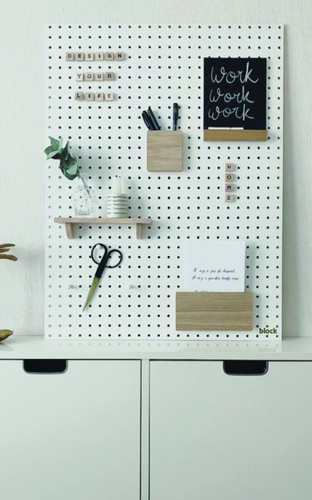 déco pegboard
