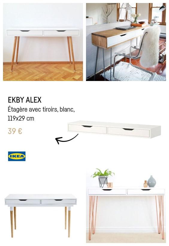 Ikea hacks console ELKBY ALEX