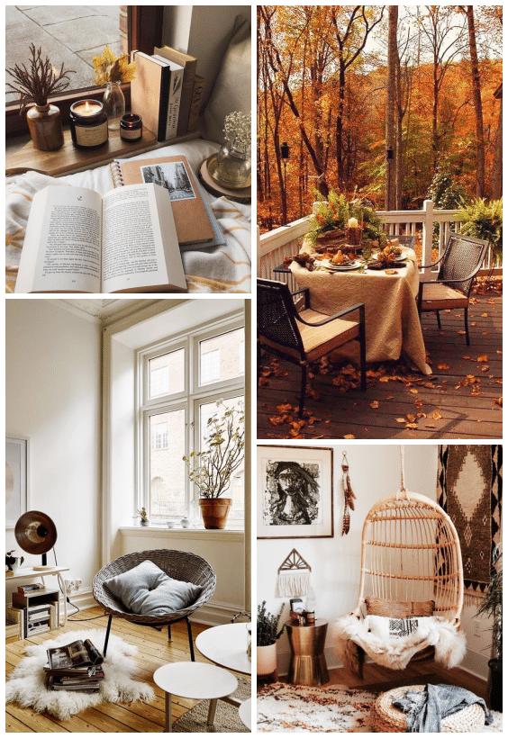 déco cosy automne