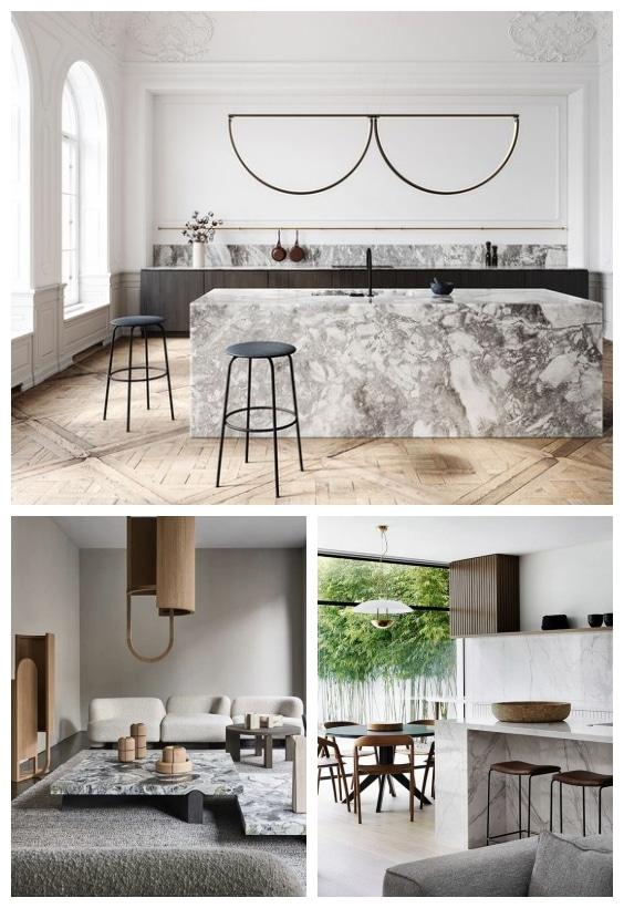 marbre décoration design