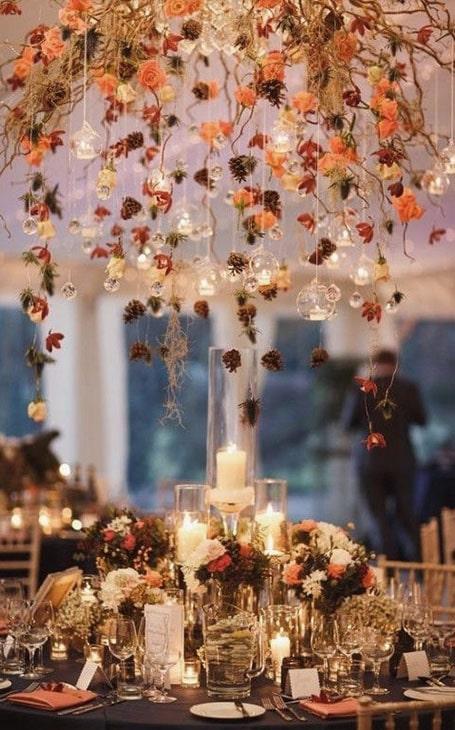 déco de salle mariage