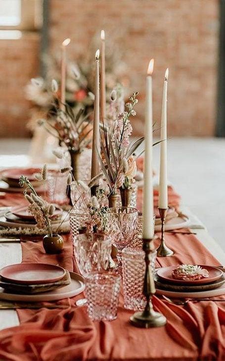 déco de table automne