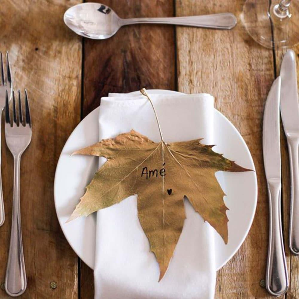 porte nom mariage automne