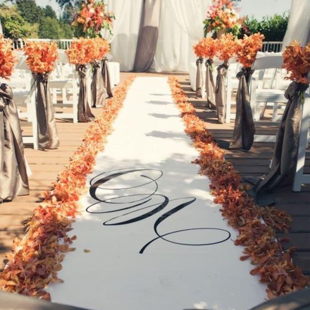 mariage automne orange