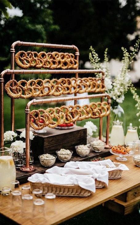 déco mariage buffet