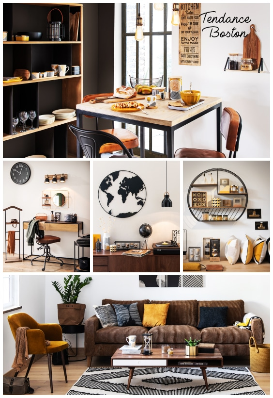 deco loft boston maisons du monde